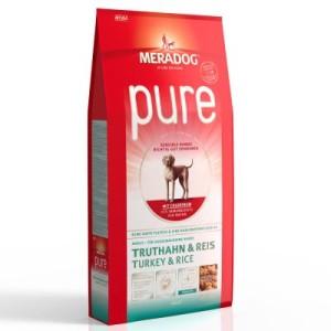 Meradog pure Truthahn & Reis - Sparpaket: 2 x 12
