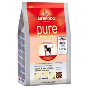 Meradog pure fresh meat Huhn & Kartoffel - Sparpaket 2 x 12