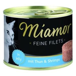 Miamor Feine Filets 6 x 185 g - passender Dosenlöffel