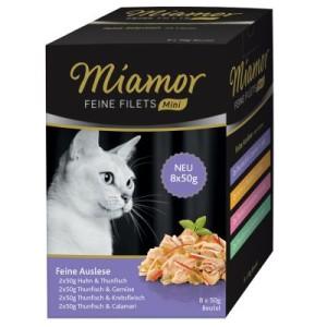 Miamor Feine Filets Mini Pouch Multibox - Gemischtes Paket (32 x 50 g)
