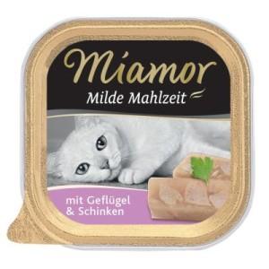 Miamor Milde Mahlzeit 6 x 100 g - Geflügel & Schinken