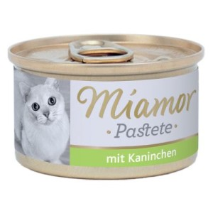Miamor Pastete 6 x 85 g - Kaninchen