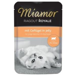 Miamor Ragout Royale 22 x 100 g Kitten - mit Geflügel