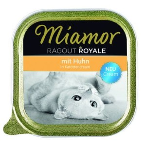 Miamor Ragout Royale Cream 6 x 100 g - Huhn in Karottencream