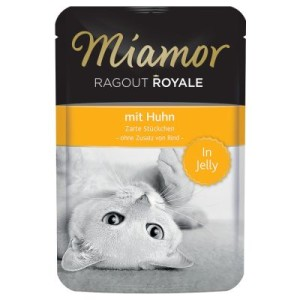 Miamor Ragout Royale in Jelly 22 x 100 g - Lachs
