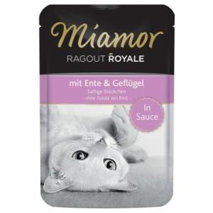 Miamor Ragout Royale in Soße 22 x 100 g - Ente & Geflügel