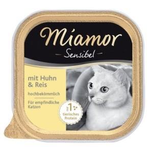 Miamor Sensibel 6 x 100 g - Pute & Pasta