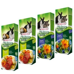 Mixed Pack Versele-Laga Nature Sticks Herbivores - 4 x 2 Sticks (340g)