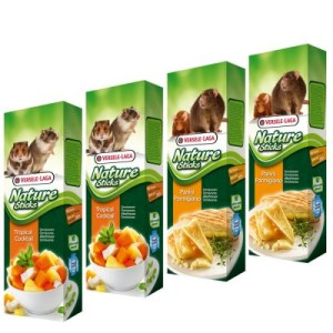 Mixed Pack Versele-Laga Nature Sticks Omnivores - 4 x 2 Sticks (340g)