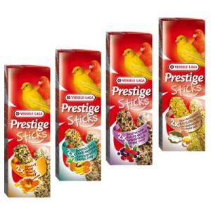 Mixed Pack Versele-Laga Prestige Sticks Kanarien - 4 x 2 Sticks (240g)