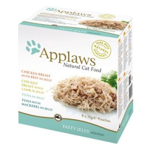 Mixpack Applaws Jelly Pouch 8 x 70 g - Jelly Multipack