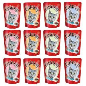 Mixpack Catessy Häppchen in Sauce - 48 x 100g mit 4 verschiedenen Sorten