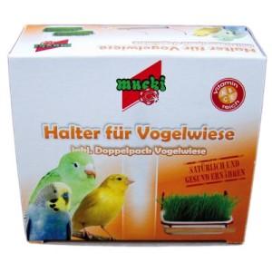 Mucki Vogelwiese - 2 x Vogelwiese mit Halter