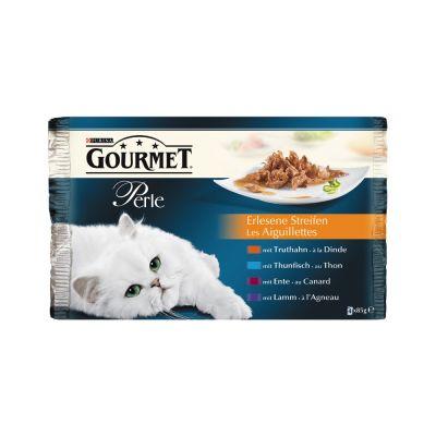 Multipack - Gourmet Perle 4 x 85 g - Truthahn
