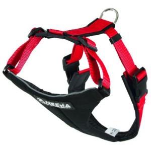 NEEWA Running Harness rot - S: Brustumfang 44 - 74 cm