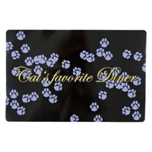 Napfunterlage Cat's Favorite Dinner - L 44 x B 28 cm