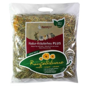Natur Kräuterheu plus Ringelblume - Sparpaket: 2 x 500 g