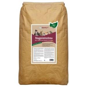 Natur Nagereinstreu Strohgranulat - 60 l (ca. 25 kg)