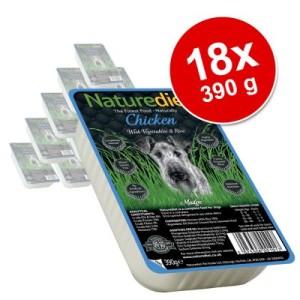 Naturediet Adult 18 x 390 g - Kaninchen & Truthahn