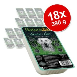 Naturediet Senior/Lite 18 x 390 g - Truthahn & Huhn