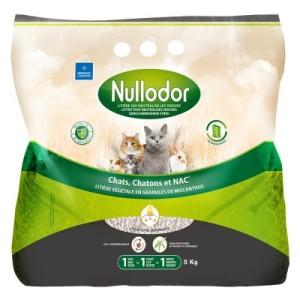 Nullodor Miscanthus Katzen- und Kleintierstreu - Sparpaket: 2 x 9 kg