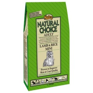 Nutro Choice Adult Lamm & Reis Mini Hundefutter - 7 kg