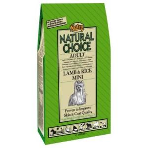 Nutro Choice Adult Lamm & Reis Mini Hundefutter - Sparpaket: 2 x 7 kg