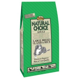 Nutro Choice Adult Large Breed Lamm & Reis - 12 kg