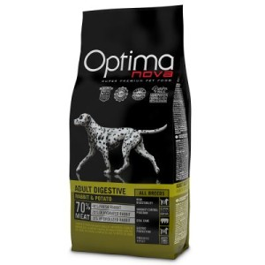 Optimanova Adult Digestive Rabbit & Potato - 12 kg