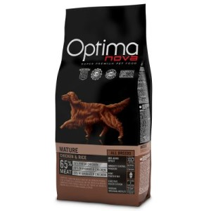 Optimanova Adult Mature Chicken & Rice - 12 kg