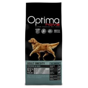 Optimanova Adult Obesity Chicken & Rice - 12 kg