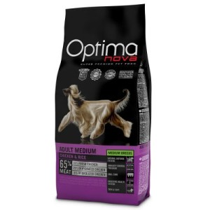 Optimanova Medium Adult Chicken & Rice - 12 kg