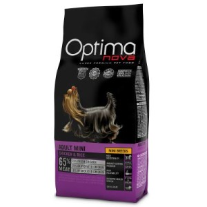 Optimanova Mini Adult Chicken & Rice - 2 kg