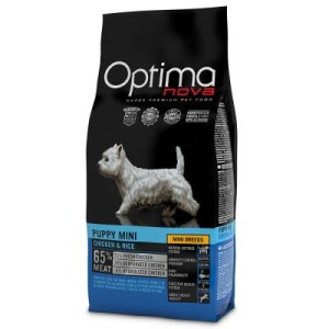 Optimanova Mini Puppy Chicken & Rice - 2 kg