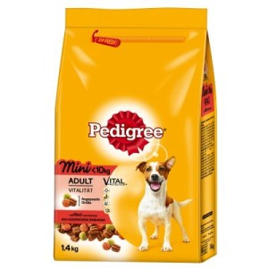 Pedigree Adult Mini Rind & Gemüse - Sparpaket 2 x 1