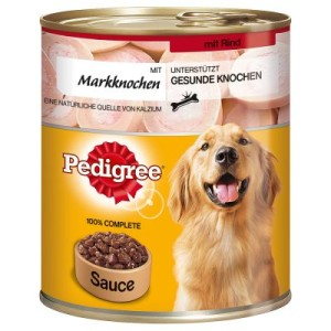 Pedigree Adult Plus 12 x 800 g - Plus Markknochen - Rind