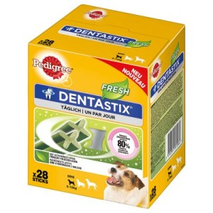 Pedigree Dentastix Fresh - Multipack (28 Stück) für kleine Hunde