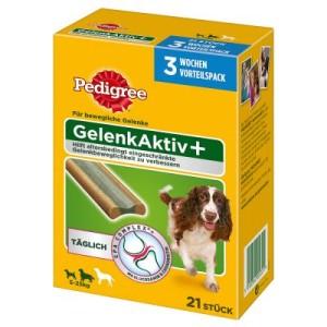 Pedigree Gelenk Aktiv Plus - Vorteilspack mittelgroße Hunde (21 Stück)