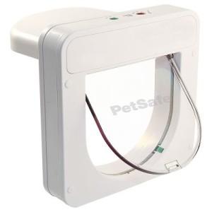 PetSafe PetPorte SmartFlap Mikrochip Katzenklappe - PetPorte SmartFlap weiß