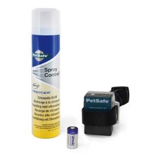 PetSafe Spray Anti-Bell-Halsband - Anti-Bell-Halsband Set mit Citronella