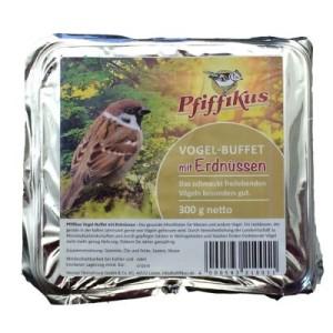 Pfiffikus Vogelbuffet - 3 x Nachfüllklotz Erdnuss (3 x 300 g)