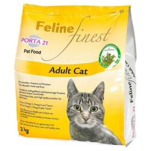 Porta 21 Feline Finest Adult Cat - Sparpaket: 2 x 10 kg