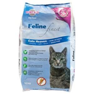 Porta 21 Feline Finest Cats Heaven - Sparpaket: 2 x 10 kg
