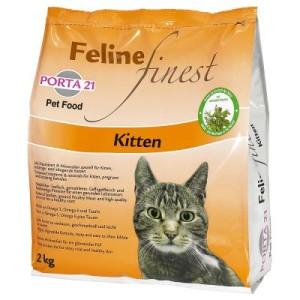 Porta 21 Feline Finest Kitten - Sparpaket: 2 x 2 kg