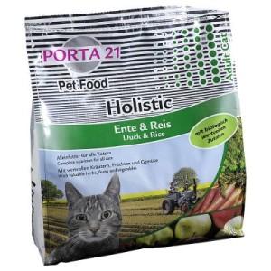 Porta 21 Holistic Cat Ente & Reis - Sparpaket: 2 x 10 kg