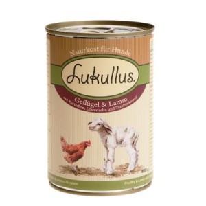 Probierpaket 5 kg Markus-Mühle + 6 x 400 g Lukullus - Rind & Truthahn