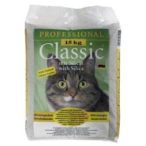 Professional Classic Katzenstreu mit Geruchsabsorber - Sparpaket 2 x 15 kg