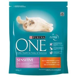 Purina ONE Sensitive - 6 x 1
