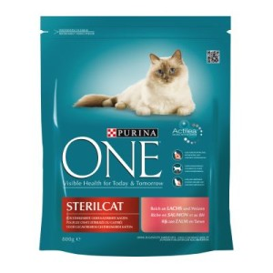 Purina ONE Sterilcat mit Lachs - 800 g
