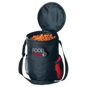 Reiseset: Foodbag Futterbehälter + Reisenapf - Reiseset aus Nylon